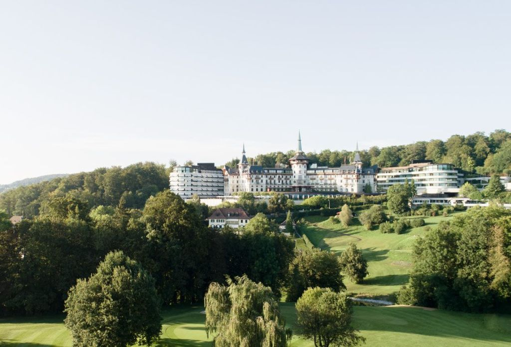 The Dolder Grand and golf course
